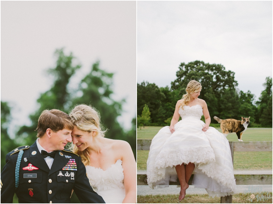 Othic Wedding North Carolina Farm Wedding Part 2